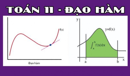 Các dạng toán về đạo hàm của hàm số, cách tính và bài tập áp dụng - Toán lớp 11